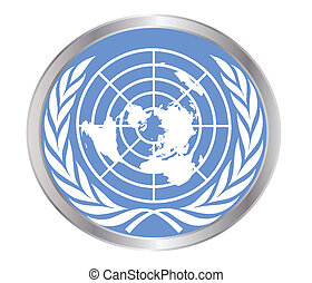 United Nations Emblem - The United Nations emblem within an...