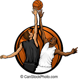 Basketball Jump Ball Color