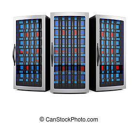 Network server racks