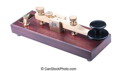 Morse Key Isolated