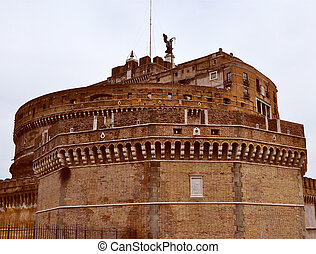 Castel Sant'Angelo, Rome - The Castel Sant'Angelo Mausoleum...