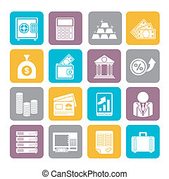 Bank and Finance Icons