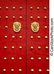Chinese door.