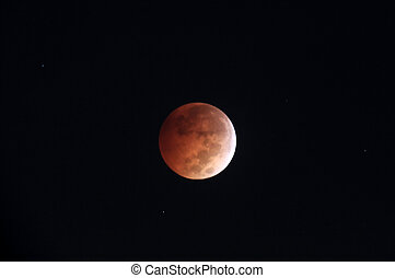 Blood moon - Total lunar eclipse