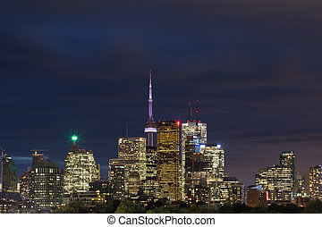 Toronto Downtown at Dusk