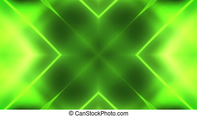Geometric Deep green VJ Looping Animated Background