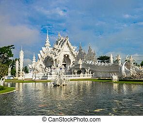 Wat Rong Khun - Wat Rong Khun in Chiang Rai, Thailand, the...