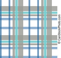 Seamless Repeated Check Fabric Pattern