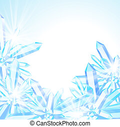 Vector card with winter decor - Vector card with winter...