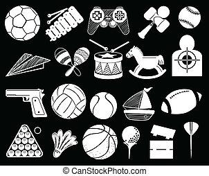 Sammlung, Spielzeuge