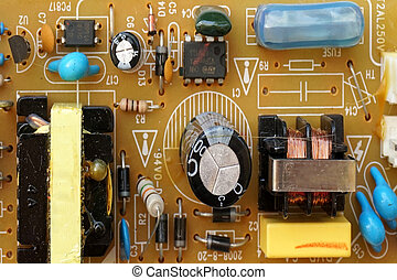Circuit Board and electronic components
