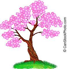 Blosom - Cherry pink tree