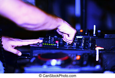 Klubba,  DJ, musik, Natt