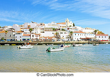 Ferragudo in the Algarve Portugal
