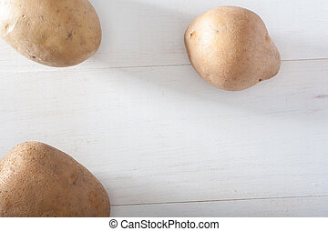 Potatos - Close up of group of potatos