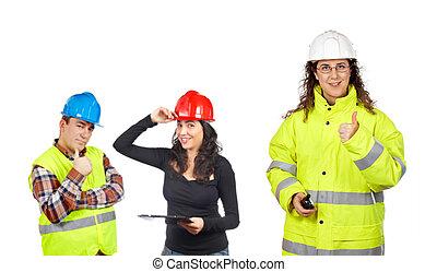 工人, 建設