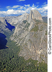 Half Dome, Yosemite National Park - Yosemite National Park,...