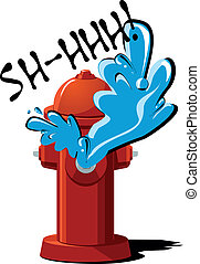 fire hydrant - vector illustration of fire hydrant with...