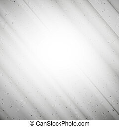 Grunge gray background, single color clear vector.