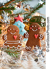Gingerbread couple  - Gingerbread couple
