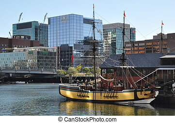 The Boston Tea Party Museum in Boston, MA