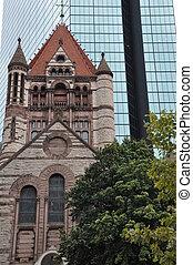 Trinity Church in Boston