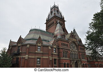 Harvard Memorial Hall in Cambridge, MA