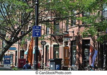 Newbury Street in Boston