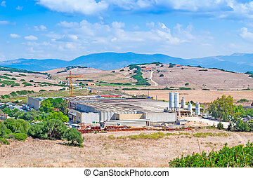 factory in the country