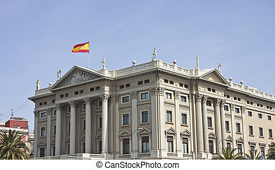 Spanish Government Building - A government building in...