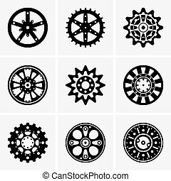 Sprocket wheels - Set of Sprocket wheels
