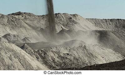 Mining with Excavator