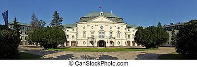 office of slovak government - summer residence of Archbishop...