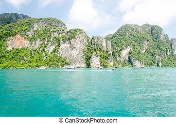phi phi island Krabi Province, Thailand Southeast Asia