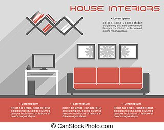 House interior design template - House interior design...
