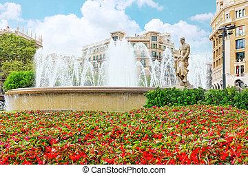 Placa de Catalynia(Square  of Catalunia) ,Barcelona.Spain.