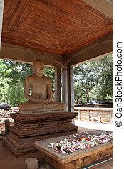 Samadhi Buddha in Anuradhapura, Sri Lanka