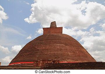 Jetavanaramaya in Anuradhapura, Sri Lanka