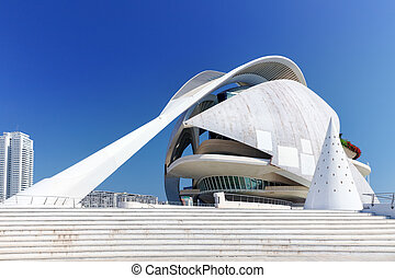 VALENCIA, SPAIN - SEPT 10: Palace of Arts (El Palau de les...
