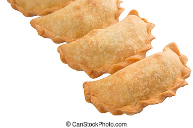 Malaysian Snack Curry Puff