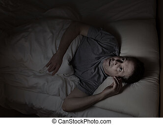 Mature man not able to fall asleep during night time - Top...