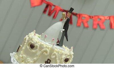 Wedding Cake - Flan, Cake