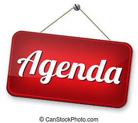 agenda daily timetable and business schedule organizing and...