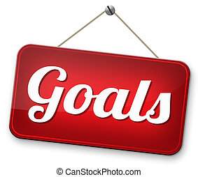 set goals - goals and ambition way to success guarantee to...