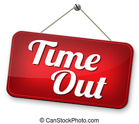 time out take a break from stress and work leisure time off...