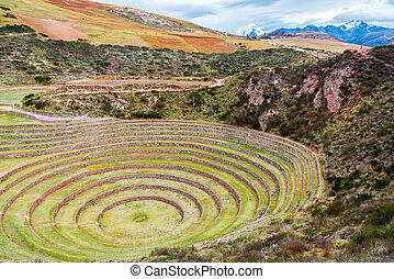 Inca Ruins of Moray