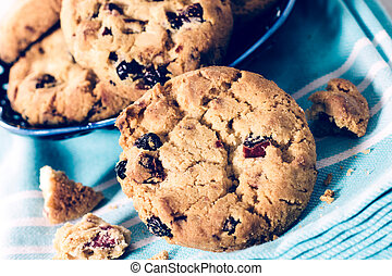 Sweet cranberry cookies - Sweet dry cranberry...