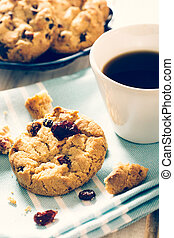 Sweet time - Sweet homemade cookies with dry...
