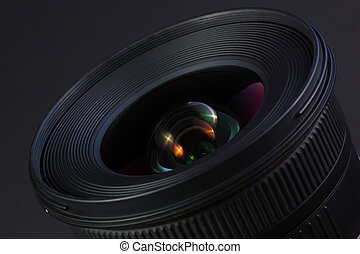 Nice wideangle lens - Nice wideangle lens with colorful...