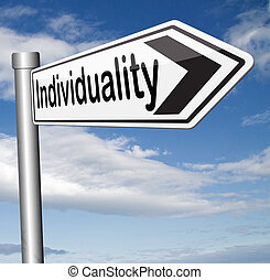 individuality being different stand out from crowd having a...